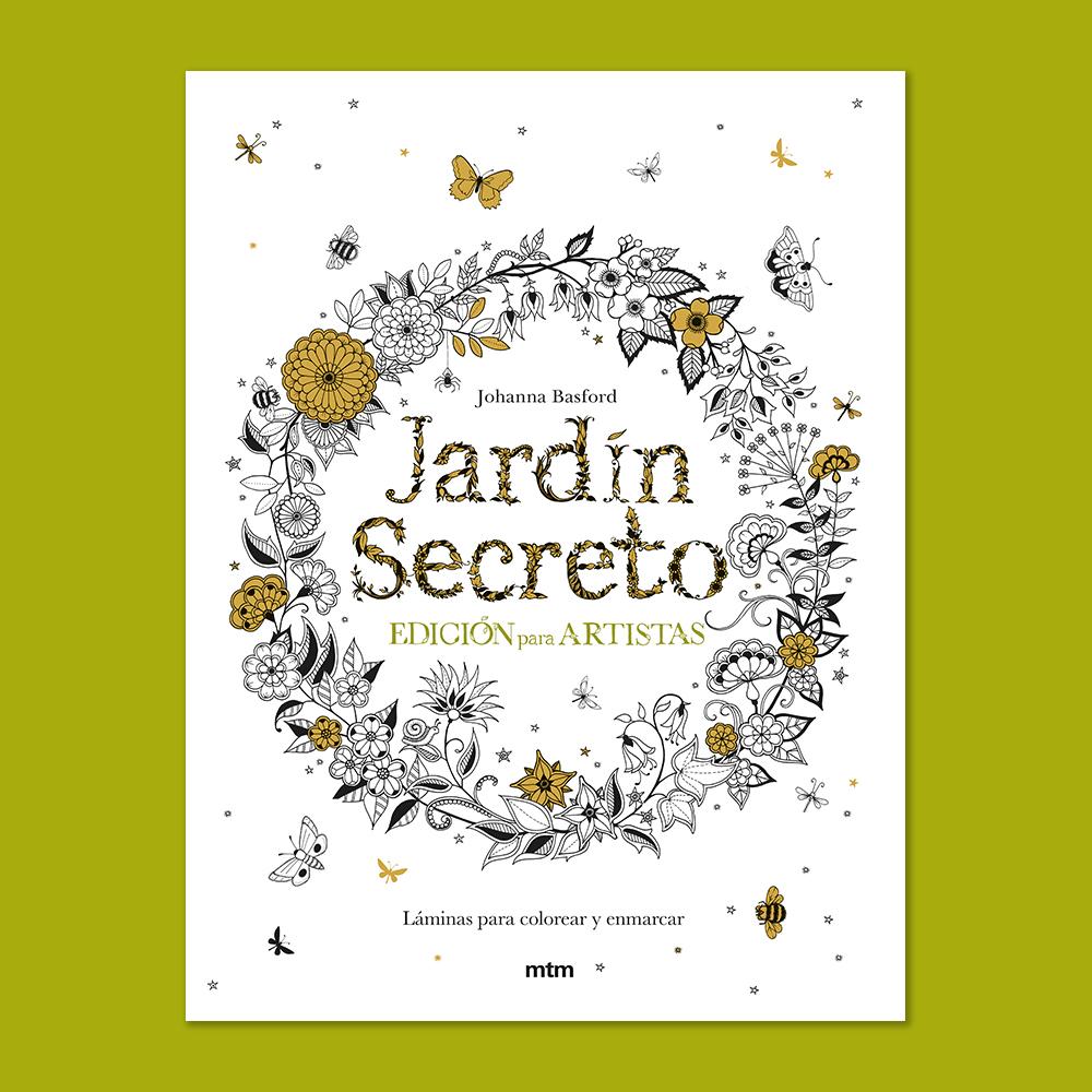 Jardin Secreto Edicion Para Artistas Libro De Mtm Editores