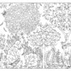 animales-ocultos-en-el-bosque